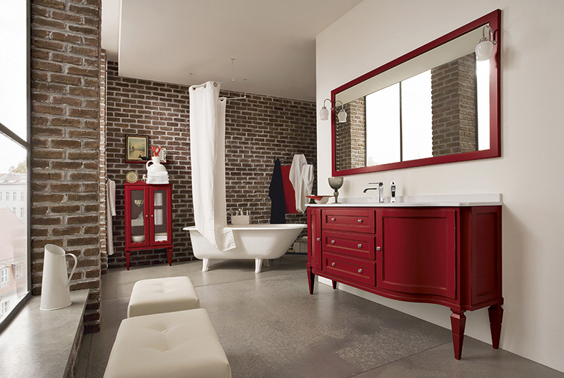Mobili bagno vintage usati bagno mobile bagno vintage for Arredo casa piacenza