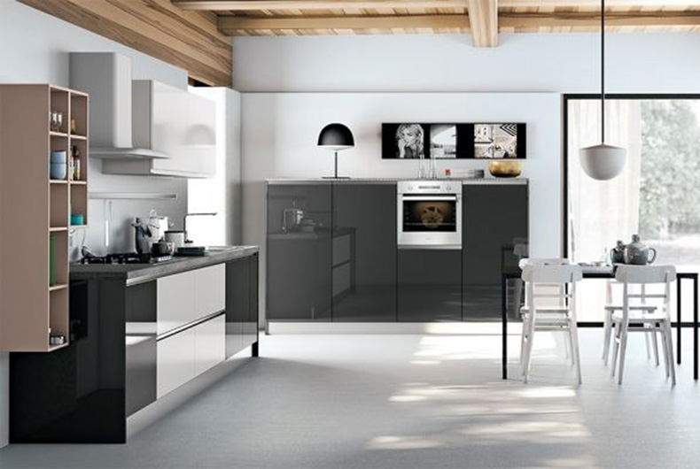 Arredare cucina e zona living in un open space: come fare e con ...
