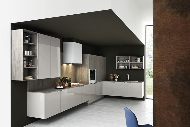 Ariel di Cesar, modello di cucina completa