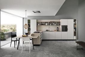 Arredamento Cucina Modello Ariel Realizzata Dall'azienda Cesar
