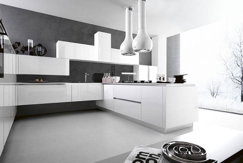Modello Ariel di Cesar, cucina completa disponibile su Bassi Design