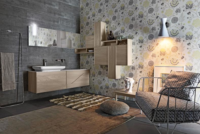 bagno free di cerasa - prodotto arredamento - bassi design piacenza - Brand Arredo Bagno