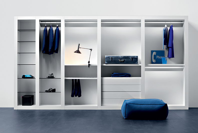 Cabina armadio modello Sipario del marchio Pianca