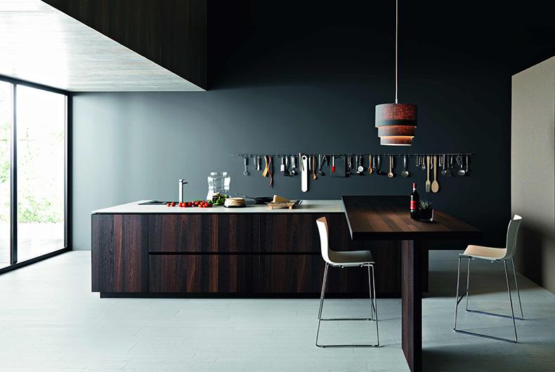Particolare di cucina modello Elle a marchio Cesar