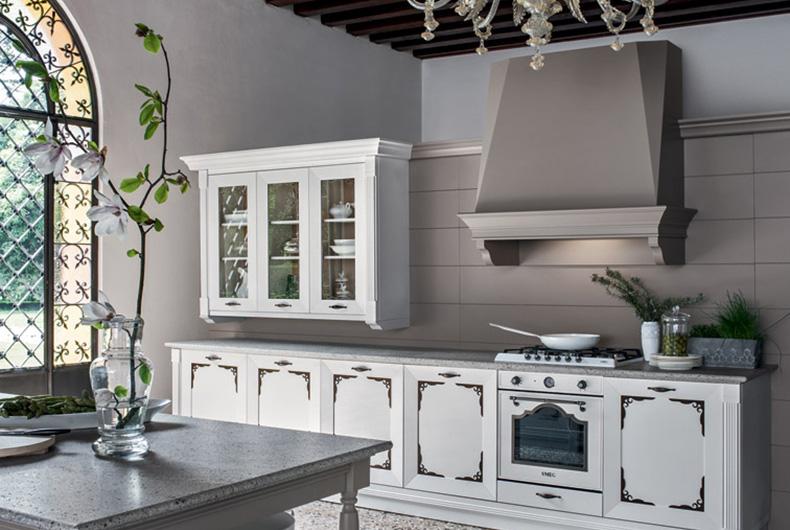 Particolare di cucina modello Etoile a marchio Cesar