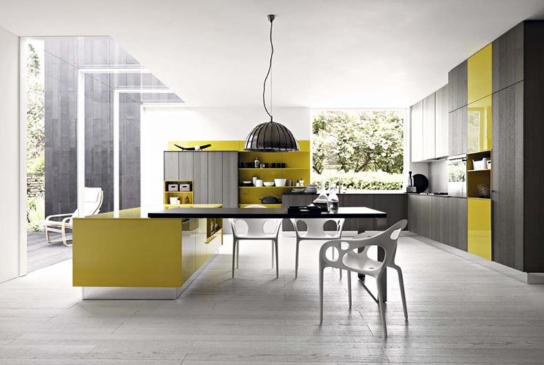 Kalea, cucina del brand Cesar disponibile su Bassi Design