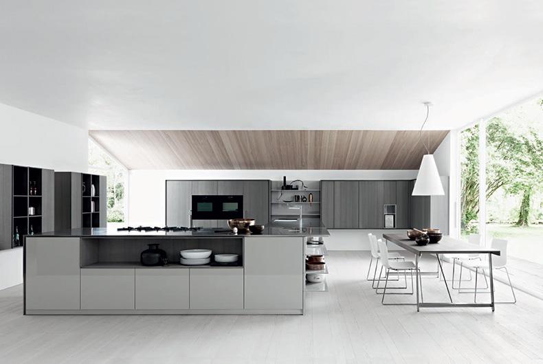 Soluzione per cucina Kalea del marchio Cesar presso Bassi Design Piacenza