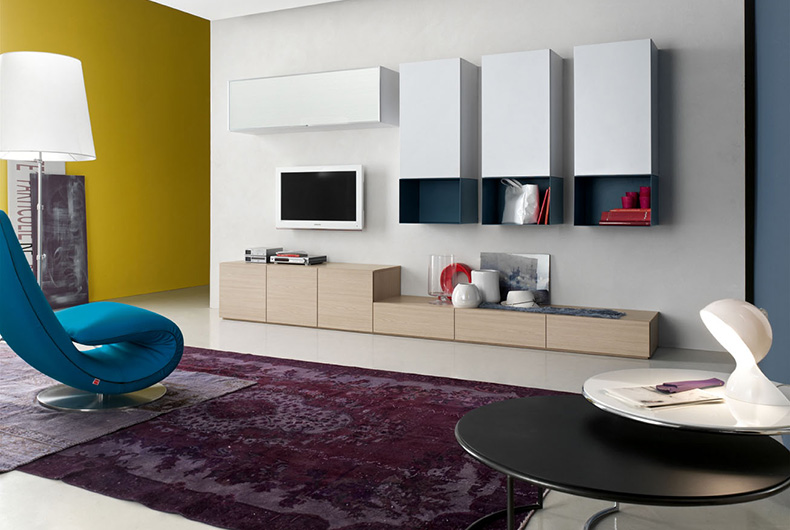 Zona living Obi Home del brand Santa Lucia, venduto da Bassi Design