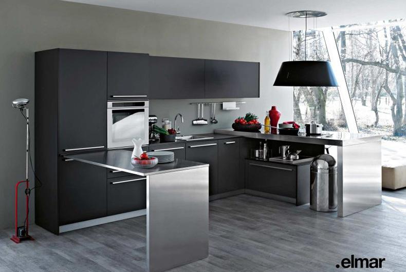Visuale Completa Della Cucina PLAYGROUND Proposta Da Elmar