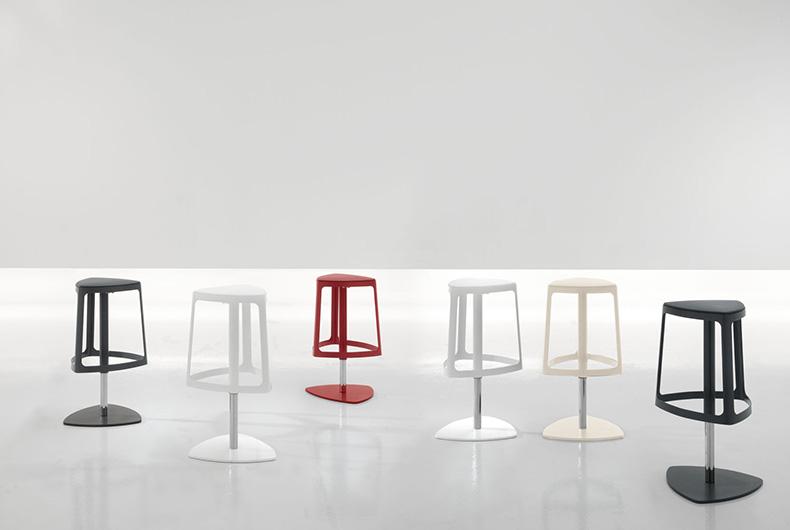 Sgabelli Clip Di Bonaldo, Soluzione Moderna Proposta Da Bassi Design