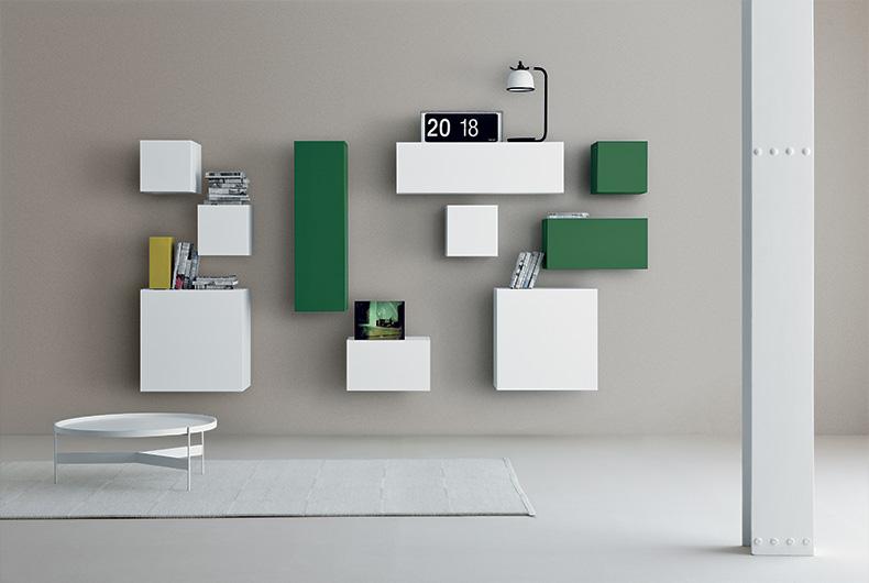 Spazio di Pianca, soluzione per il tuo living proposta da Bassi Design