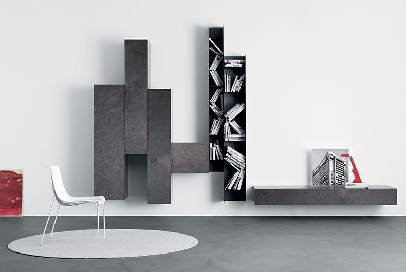 Spazio di Pianca, proposta per lì'arredo del soggiorno su Bassi Design
