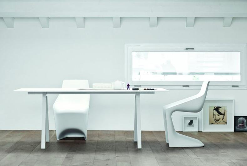 Tavolo Neat di Kristalia, soluzione proposta da Bassi Design
