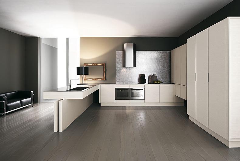 Yara di Cesar, cucina completa di Bassi Design