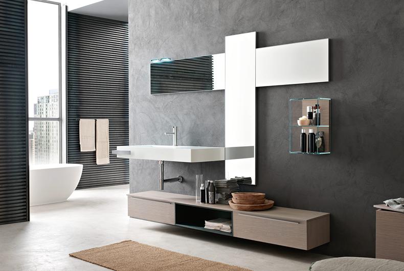Bagno Pollock di Arcom - Prodotto arredamento - Bassi Design Piacenza