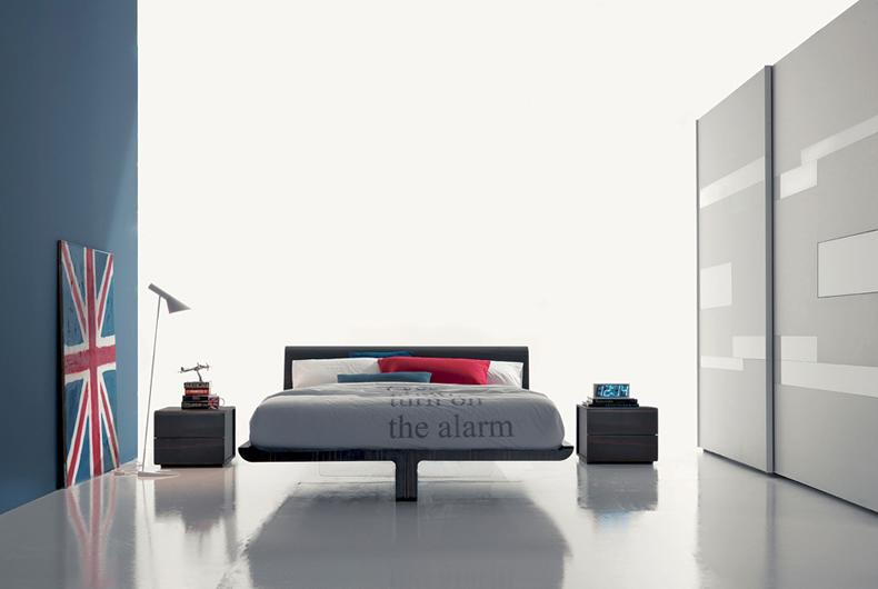 Letto volo di fimar prodotto arredamento bassi design piacenza - Rino gaetano nel letto di lucia ...