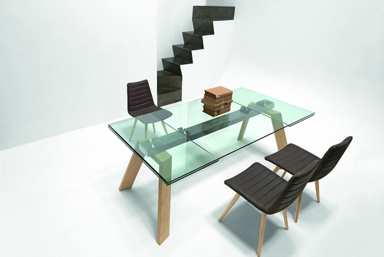 Tavolo allungabile toronto di midj prodotto arredamento for Sedie design toronto