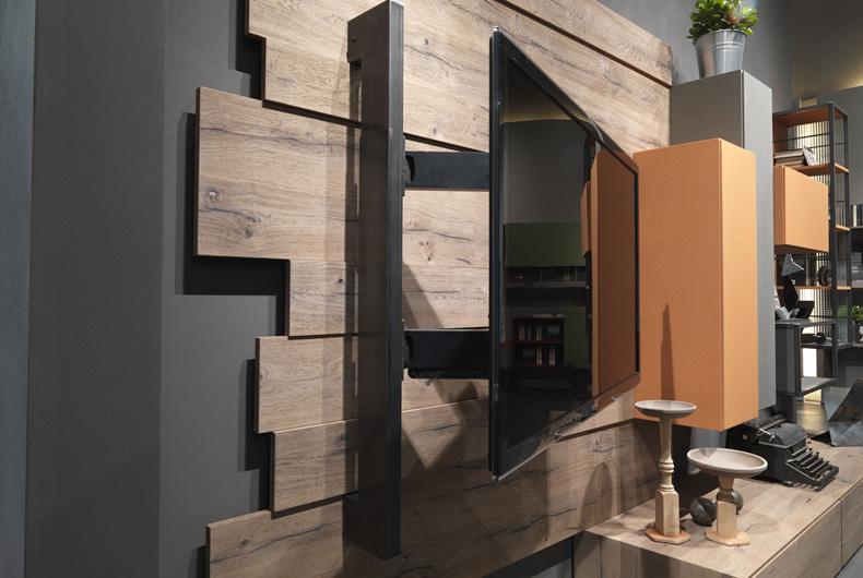Porta TV Rack Flag di Fimar - Prodotto arredamento - Bassi Design ...