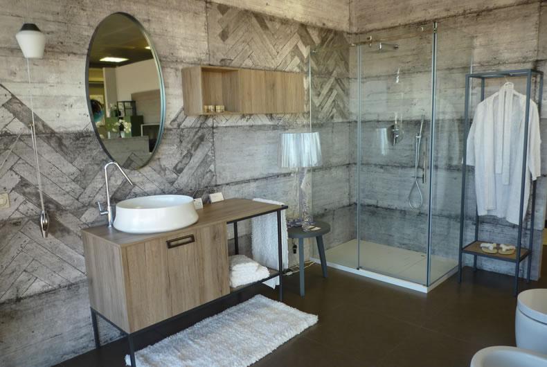 Nuova esposizione bagni cerasa bassi design piacenza for Esposizione arredo bagno