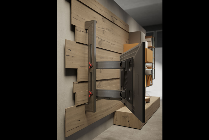 Porta Tv Rack.Porta Tv Rack Flag Fimar 4 Bassi Design Piacenza