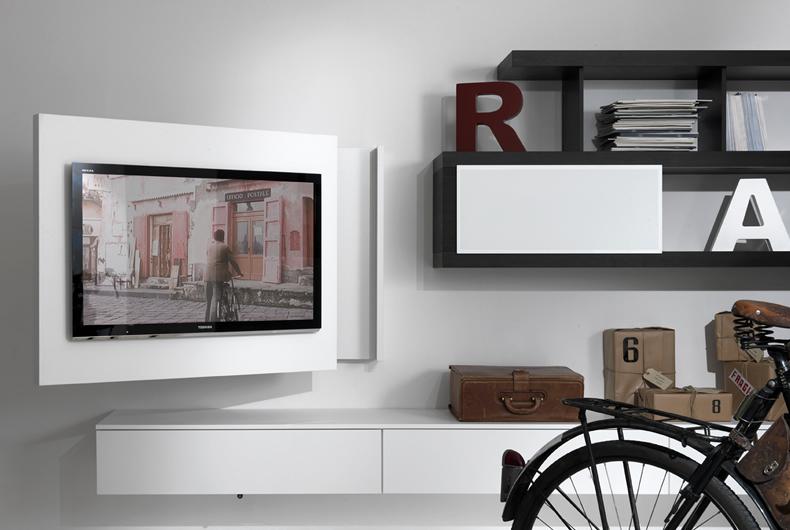Porta TV Rack Free di Fimar - Prodotto arredamento - Bassi Design ...