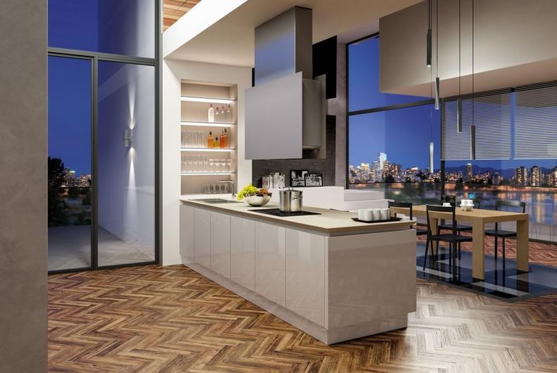 Cucina B50 di Berloni - Prodotto arredamento - Bassi Design Piacenza