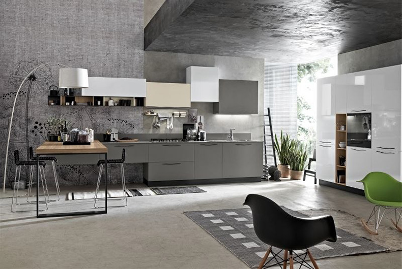 Cucina-completa-di-elettrodomestici-mod.-Maya - Bassi Design Piacenza