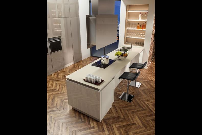 cucina-berloni-B50-Sahara-Biscotto-3 - Bassi Design Piacenza