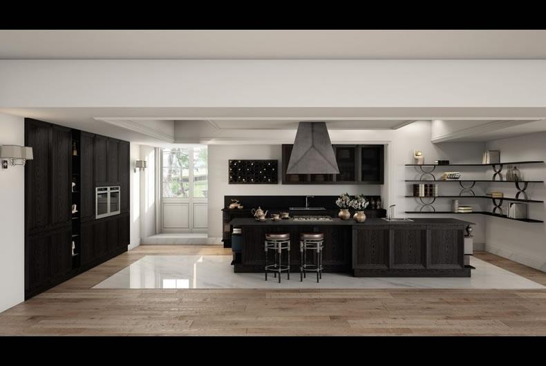 Cucina Milano di Berloni - Prodotto arredamento - Bassi Design Piacenza