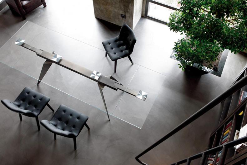 Bontempi Tavoli Cristallo Allungabili.Tavolo Ramos Di Bontempi Casa Prodotto Arredamento Bassi Design