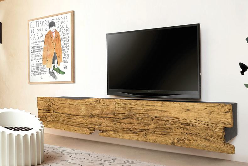 Porta tv Ill di Nature Design - Prodotto arredamento - Bassi Design ...