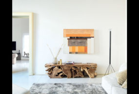 Porta Tv Radice Di Nature Design