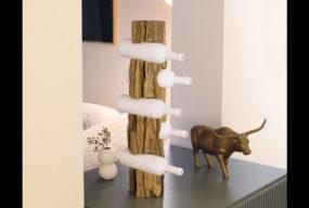 Portabottiglie Cru Di Nature Design