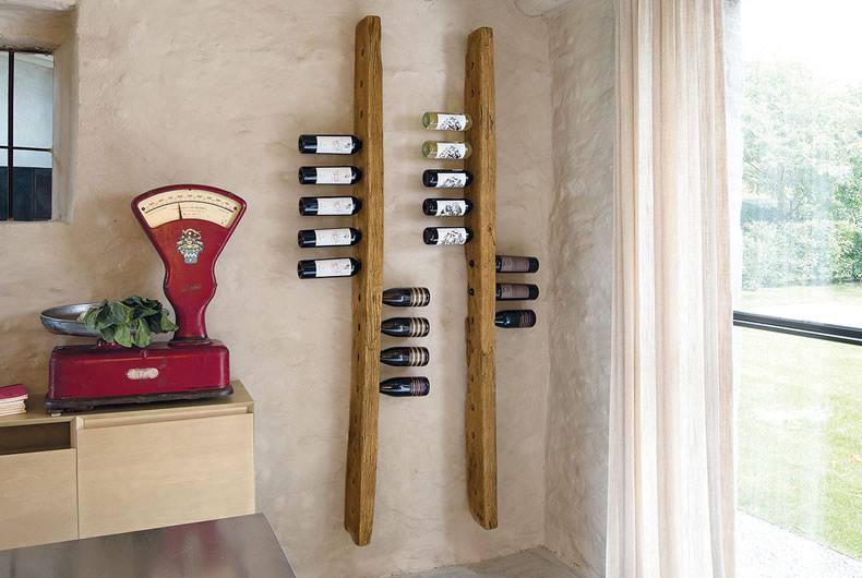 Portabottiglie Sommelier di Nature Design