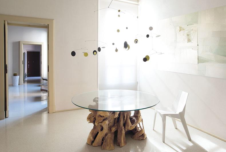Tavolo radice di nature design prodotto arredamento - Tavolo con radice ...