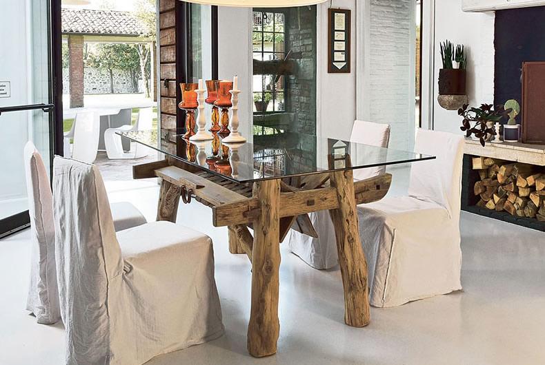 Tavolo Mulino di Nature Design