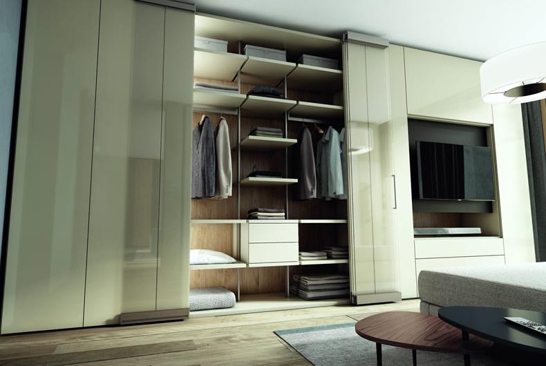 Composizione armadio Roomy di Caccaro - Prodotto arredamento ...