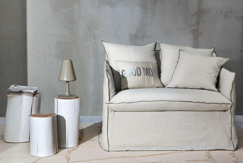 Divano ghost di gervasoni prodotto arredamento bassi - Gervasoni divano letto ...