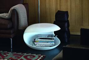 Tavolino White Shell Di Zanotta